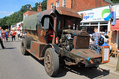 Well oiled tractor co ~ 1929 Fordson Model C aircraft maintenance tractor.