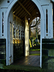 Looking Through The Lychgate