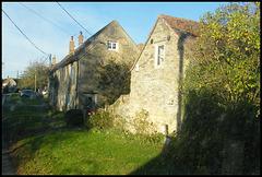 stone cottages at Garsington