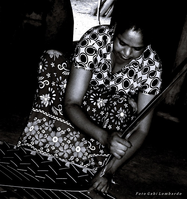 woman at work (Cambodja)