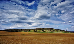 Fränkische Landschaft - Franconian Countryside - Payage de la Franconie - Please view on black!