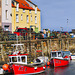 Two Red Fishing Boats, St Andrews Harbour