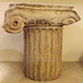 Ionic Capital and Column Drum from the Mausoleum of Halicarnassus in the British Museum, May 2014