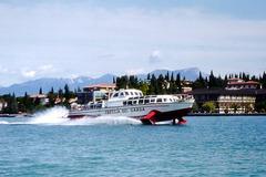 Lago di Garda: Tragflügelboot  (1973)