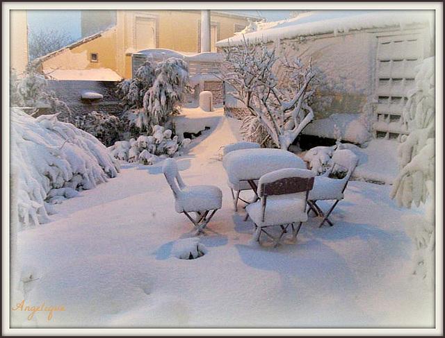 Bon WE sous le froid d'hiver !..........c'était en 2013