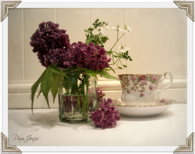 Lilac with china