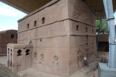 Ethiopia, Lalibela, The Bete Maryam (St.Mary) Church