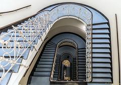 Treppenhaus im Laeiszhof