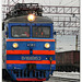 вл60 transiting at Plestesk station, Russia