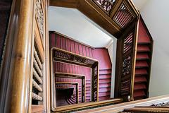 Treppenhaus im Kontorhaus Stubbenhuk