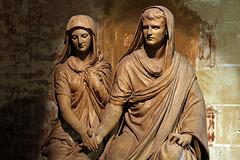 Le mariage romain . Sculpture d'Eugène Guillaume