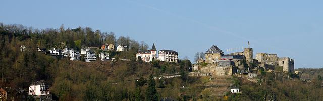 Burg Rheinfels in Sankt Goarshausen