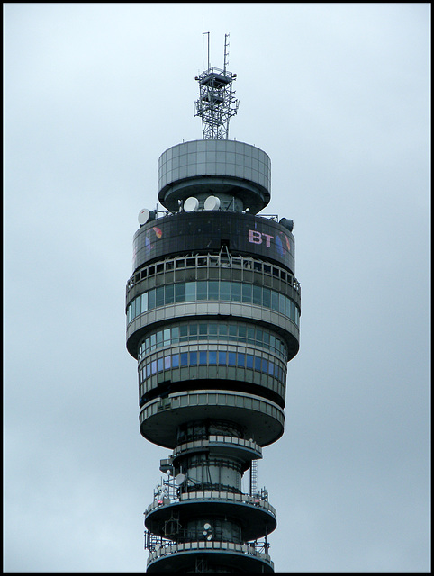 top of the BT Tower