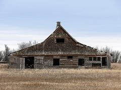 Barn of an unusual shape