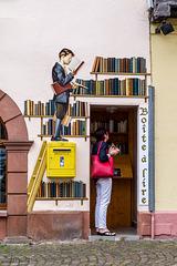 Der Bücherwurm...