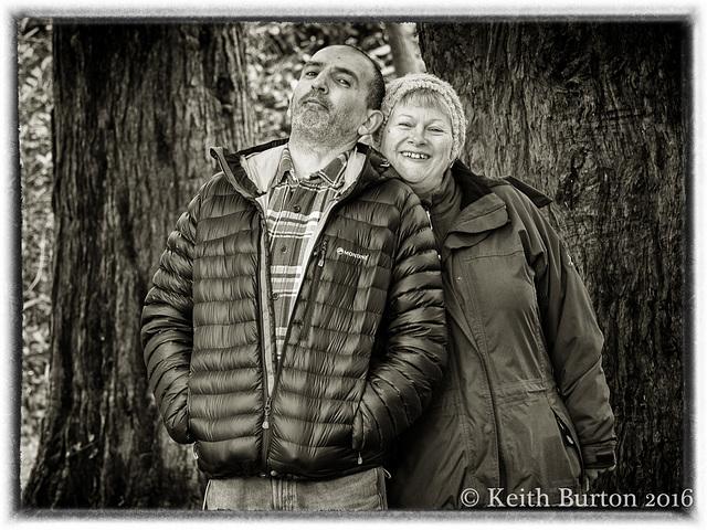 Steve and Pamela