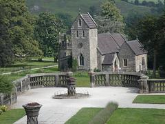 Ilam Church from Ilam Hall