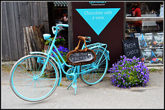"""#21 just for show..   Contest Without Prize (2016/08) """"Bicycle"""""""