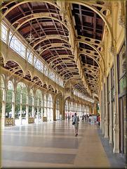 Mariánské Lázně / Marienbad (CZ) 24 août 2006. La colonnade.