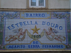 Tiles panel of a Lisbon borough.