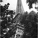 Eiffel Tower B&W