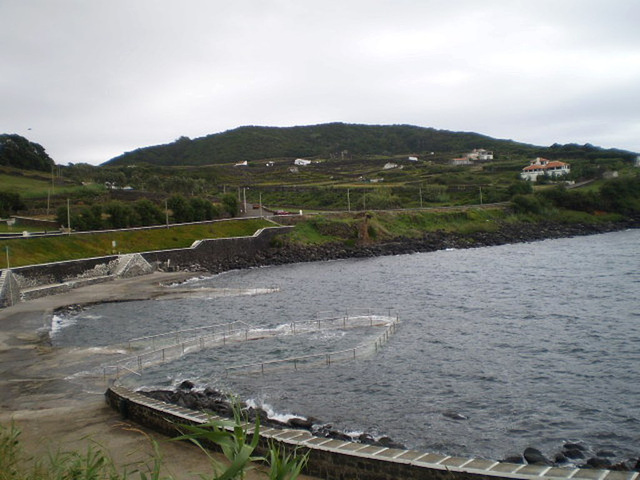 Salga's bathing area.
