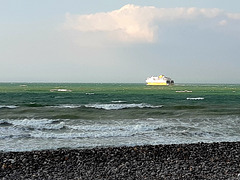 Ferry à Dieppe