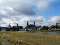 13 Die Elbe bei extremem Niedrigwasser