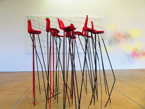 March of the Red Chairs