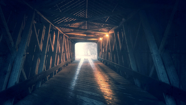 light at the end of the tunnel...