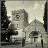 Vintage 120 Camera. St Michael's Church, Guiting Power, Gloucestershire