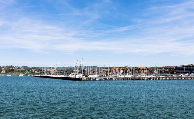 Embarcadero y Real Club Marítimo del Abra