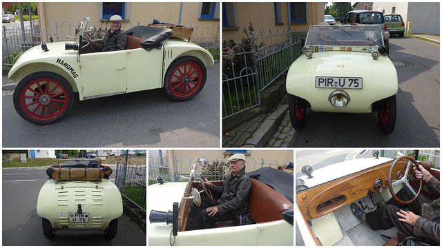 Hanomag 1925 - wer langsam fährt - kommt auch ans Ziel