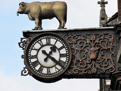 clock, bedford