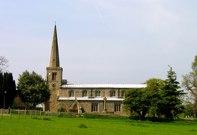 Church of St Michael and All Angels at Hamstall Ridware (Grade I Listed Building)