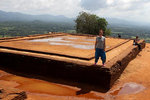 Atop Sigiriya