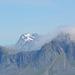 Norway, Lofoten Islands, Mountain of Middagstinden (707m) on the Island of Flakstadøya