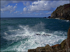 Splash! From Tubby's Head to St Agnes Head. For Pam.