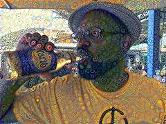 Greg drinking Carib 7