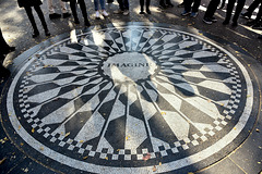 """N-Y- Le mémorial """"Imagine circle"""""""