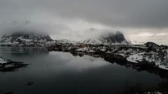 Lofoten, Reine, Norway, not a BW...