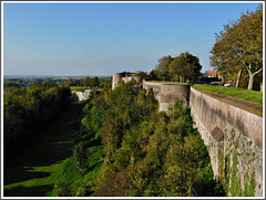 Les remparts de Montreuil sur Mer (62)