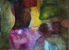 Danseuse - Peinture de Boris H.