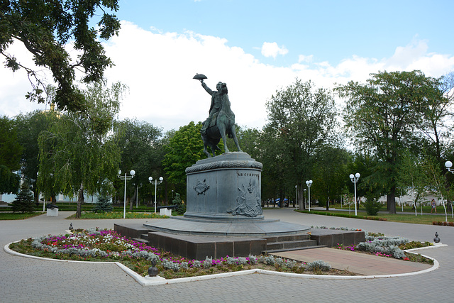 Измаил, Памятник полководцу Александру Суворову / Izmail, Monument to the commander Alexander Suvorov