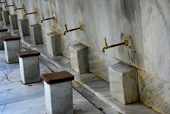 Waschplatz an der Sultanachmet Camii