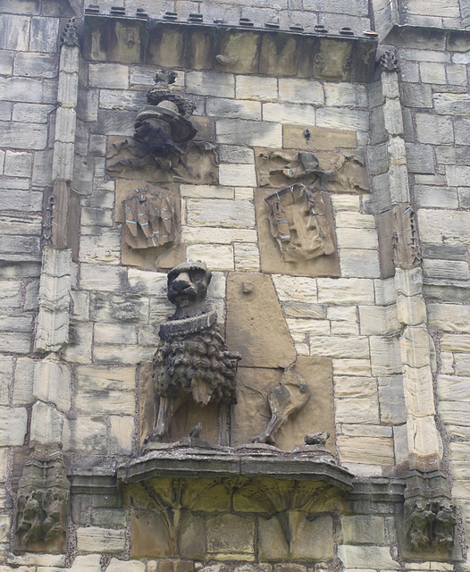 Detail of the Lion Tower