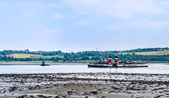 PS 'Waverley', River Clyde, Dumbarton