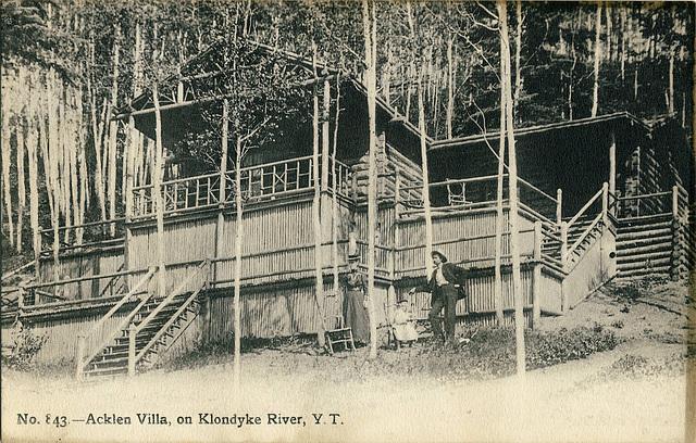 6687. Acklen Villa, on Klondyke River, Y.T.