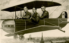 Three Guys in a Plane over Paris