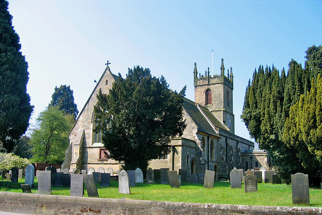 Church of St. Peter at Yoxall (Grade II* Listed Building)